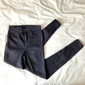 AE High-Waisted Skinny Jeans, Size 2L